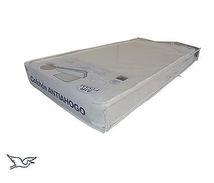 La Cigueña Colchón Antiahogo Cuna 60x120 + Protector 2 en 1 Hipoalergénico Orgánico de Regalo