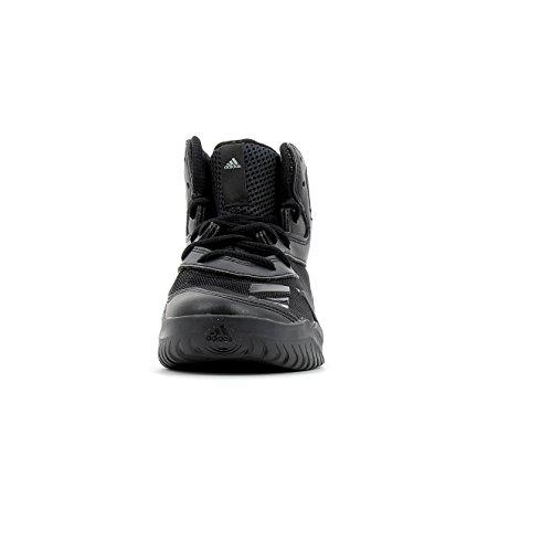 adidas Crazy Team K, Zapatillas de Deporte Unisex Niños, Gris (Grpumg / Negbas / Ftwbla), 38 EU