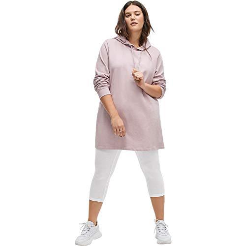 Ellos Women's Plus Size Pull-On Capri Leggings - White, 22/24