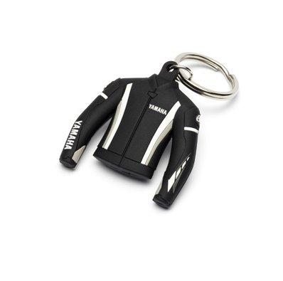 Yamaha 3d chaqueta de goma llavero/llavero: Amazon.es: Coche ...