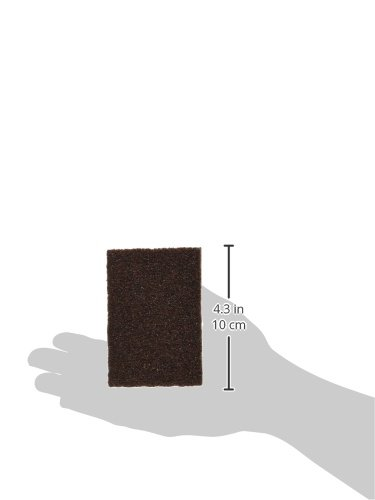 Hyde Tools 45320 Foam Sanding Sponge Block with Medium//Coarse Grit 2-3//4-Inch x 4-Inch x 1-Inch Ammex Corporation