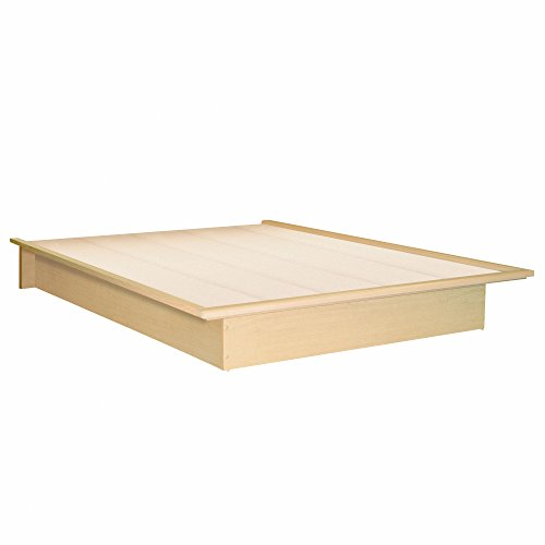 Maple Wood Bed Frame (South Shore Copley Platform Full/ Queen Bed Frame Only in Light Maple Finish - Full)
