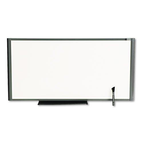 Markerboard, Total Erase, 36 quot;x18 quot;, Graphite Frame (Markerboard Erase Total)