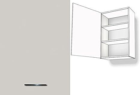 Armadio pensile da cucina 1-porte a 2 ripiani 50 cm larghezza 72 cm ...