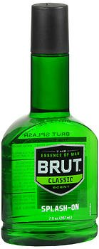 Brut Splash-On Classic Scent - 7 oz, Pack of 6