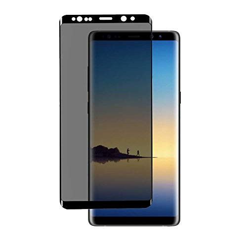 Note 8 Privacy Screen Protector,Hardness Privary Tempered Glass Anti-Spy Screen Protector for Samsung Galaxy Note8(Black)