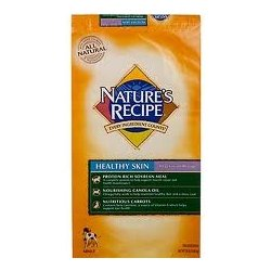 Nature's Recipe Healthy Skin Vegetarian Recipe Dry Dog Food (30lb)