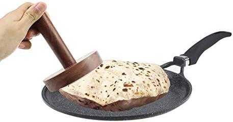 Wooden Roti Chapati Maker Datta Press Indian Cookery Roti and Chapati Press.