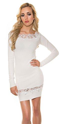Koucla - Vestido - para mujer crema