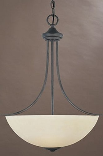 Designers Fountain 96931-ORB Montego 3 Light Inverted Pendant