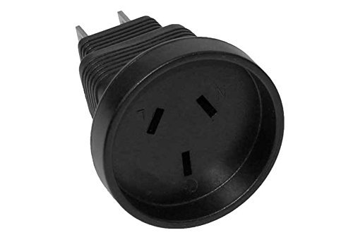 SF Cable, 3 Prong Plug Adapter, Australia AS3112 receptacle to USA NEMA 5-15P (Usa Adapter To China Power)