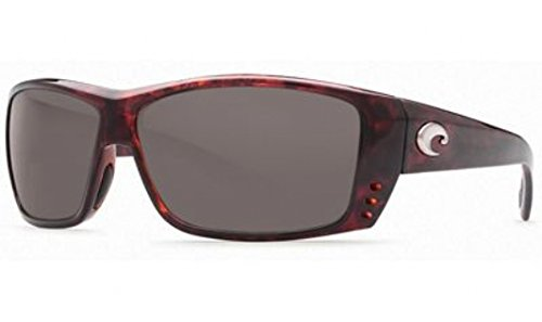 Costa Del Mar Cat Cay Sunglasses, Tortoise, Gray 580 Plastic Lens