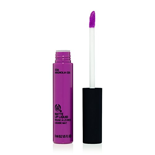The Body Shop Matte Lip Liquid, Goa Magnolia, 0.2 Fluid Ounce