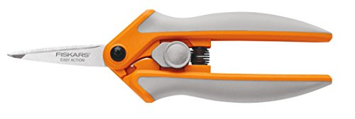 Fiskars 5 Inch RazorEdge Micro-Tip Easy Action Shears (Fiskars Craft Scissors)