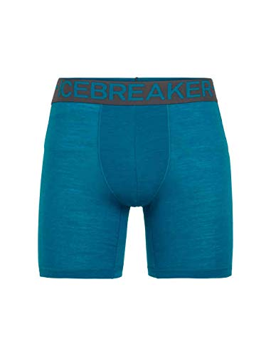 9844b9ca21ffc0 Icebreaker Merino Men's Anatomic Zone Long Boxers Base Layer Underwear,  XX-Large, Alpine