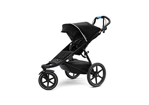 Thule Urban Glide 2.0 Jogging Stroller (Black w/Black Frame) (Renewed)