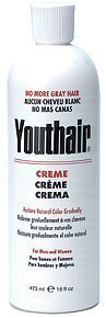 (YOUTHAIR Creme for Men and Women Natural Color Gradually 16oz/473ml)