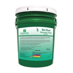 Biodegradable Hydraulic Oil, 5 Gal, ISO 68 by Renewable Lubricants