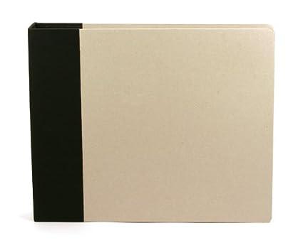 Amazoncom 12 X 12 Inch Modern D Ring Chipboard Album By American