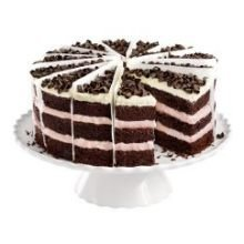 Bistro Collection Chocolate Raspberry Duet Cake, 62 Ounce -- 2 per case.