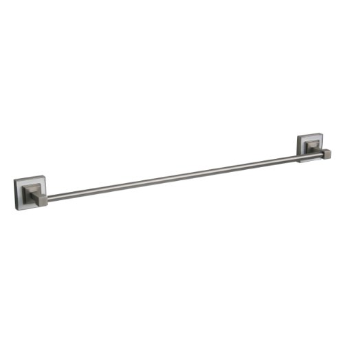 new Arista Bath Products Leonard Series Towel Bar, 24-Inch, Satin Nickel