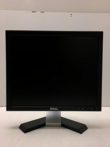 Dell 1708FP Flat Panel Monitor-1280x1024 Black and Silver-17