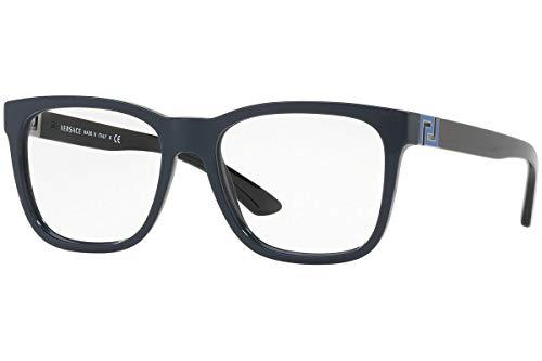 Versace VE3243 Eyeglasses 53-17-145 Blue w/Demo Clear Lens 5230 VE ()
