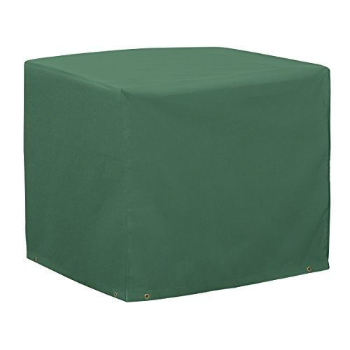 Classic Accessories 52-132-011101-11 Atrium Square Air Conditioner Cover, Green by Classic Accessories