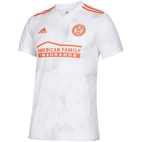 (adidas Youth Atlanta United FC Away Replica Jersey-Small White)