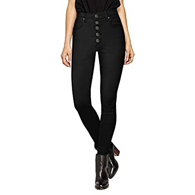HyBrid & Company Womens Super Stretch Comfort High Waist High Rise Skinny Jeans at Women's Jeans store