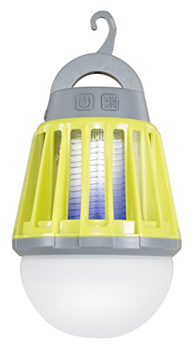 Stansport 2 in 1 Lantern Bug Zapper, Green (Lantern Hanging Reed)