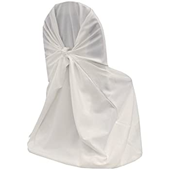 amazon com mds pack of 100 polyester universal chair cover for