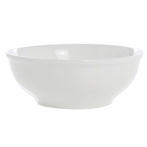 ITI BL-18 Bristol Porcelain 6-Inch Fine Porcelain Nappie, 19-Ounce, Bright White, 36-Piece