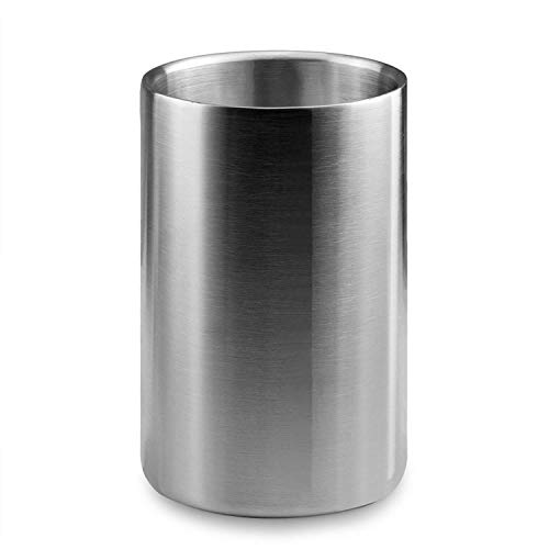 Kristing New Stainless Steel Barrel & Wine Cooler,Champagne Cooler,Ice Wine Cooler Lockers,Multi-Purpose Tool,1PCS ()