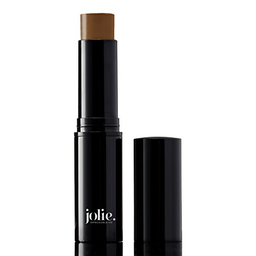 Jolie Cosmetics Creme Foundation Stick Full Coverage Makeup Base (Cocoa) (Tawny Finish Bronze)