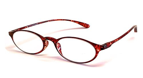 Calabria Reading Glasses - 719 Flexie in Tortoise +0.50
