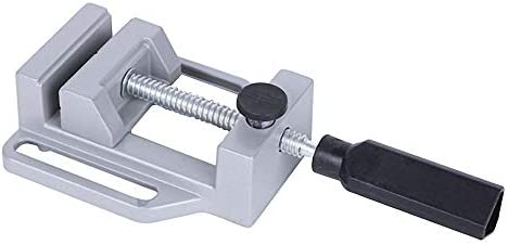 Quick Tongs Aluminum Alloy Flat Vise For Electric Drill Stand 70mm Tongs Mini Home Use Flat Tongs Bench Vise