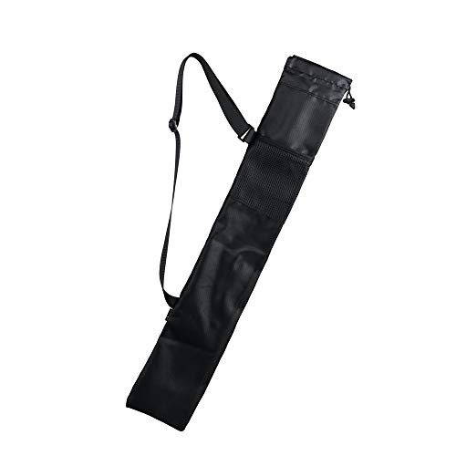 CM Cosmos Portable Carrying Bag Storage Bag Pouch for Walking Stick Trekking Hiking Poles, Black Color