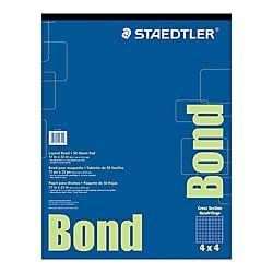 Staedtler r bond paper 17in x 22in white for Blue bond paper
