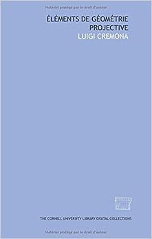 Book Éléments de géométrie projective