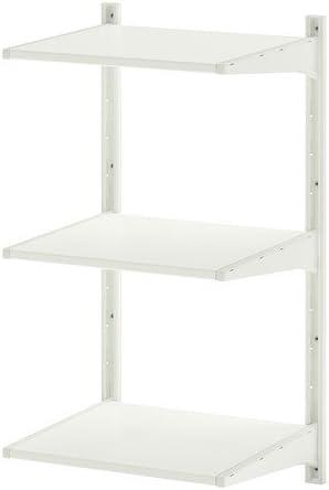 IKEA ALGOT - Estantería vertical de pared, color blanco, 45 x ...