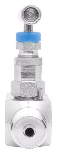 1/4'' Carbon Steel Needle Valve - Packed Bonnet FxM NPT, 10,000PSI by DuraChoice (Image #3)