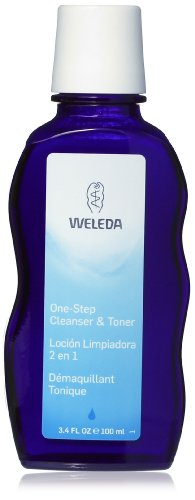 Weleda One Step Cleanser and Toner, 3.4 Ounce