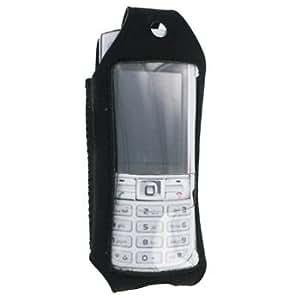 Hama - Funda para teléfono móvil piel, color negro
