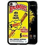 Honey Yellow Case - SSCase Yellow Backwoods Honey Cigar Soft Plastic Protected Case for iPhone 7 - Black