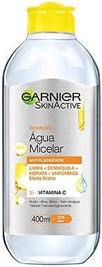 Água Micelar Antioleosidade Garnier, 400ML, Garnier