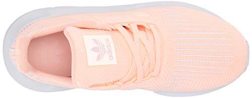 adidas Originals Baby Swift Running Shoe, Clear Orange/Weiss-Schwarz/White, 4K M US Toddler by adidas Originals (Image #7)