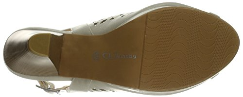 Sandal CL Womens by White Platform Dress Laundry Chinese Off nnAPxrY