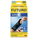 Wrist Brace, Reversible, 5-1/2''''-8-1/2'''', Latex Free, Black, Sold as 1 Each