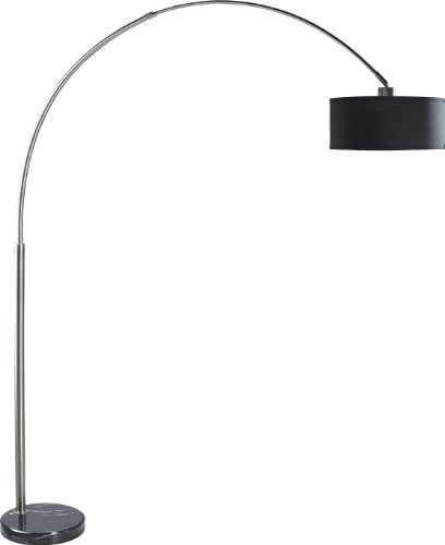 SH Lighting SH-6938BK Arching-Floor-Lamp, Large, Black